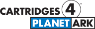 cartridges for planet ark logo