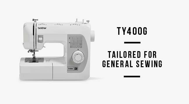 Brother tailored to you ty400g sewing machine